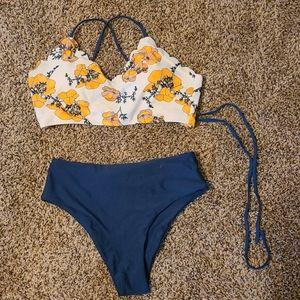 Shein high waist bikini